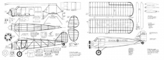 Stinson SM-2 MAN model airplane plan
