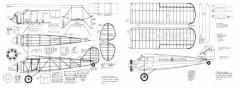 Stinson SM-2 MAN model airplane plan