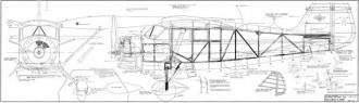 Stinson SR-9 Reliant 1-4 scale model airplane plan