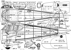 Stinson Voyager 2 model airplane plan
