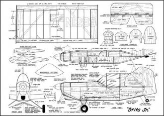 Stits-Jr model airplane plan