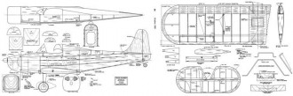 StitsPlayboy model airplane plan