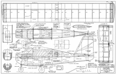 Stits SA-9A Sky Coupe model airplane plan