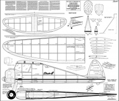 Strato B model airplane plan