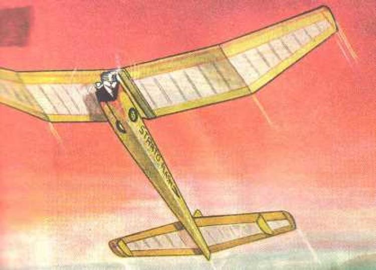 Strato Flash model airplane plan
