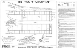 Stratosphere model airplane plan