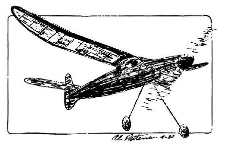 Stratosphere model airplane plan