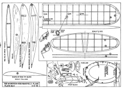 Streamline Wake p2 model airplane plan