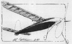 Struck Contest Winner model airplane plan
