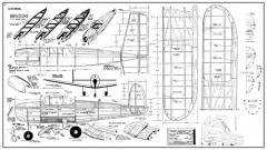 Struhl Ercoupe model airplane plan