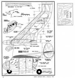 Struhl Tailless-MAN-02-47 model airplane plan