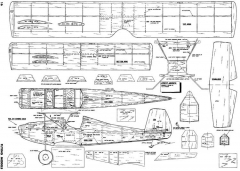 Strutz Aircrate model airplane plan