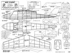 Student3 model airplane plan