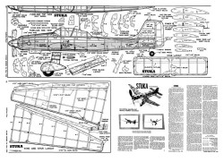 Stuka 2 model airplane plan