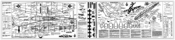 Stuka 3 model airplane plan
