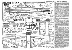 Stuka 4 model airplane plan