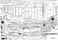 Hi Johnson's Stuka Stunt model airplane plan