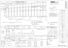 Stuka Stunter model airplane plan
