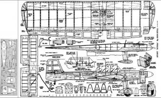 Stuke Stunt 1952 model airplane plan