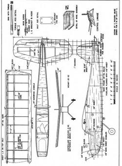 Stunt-Runt model airplane plan