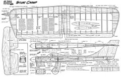 StuntChamp model airplane plan
