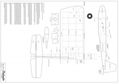 Stuntmaster model airplane plan