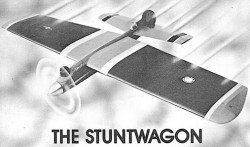 Stuntwagon model airplane plan