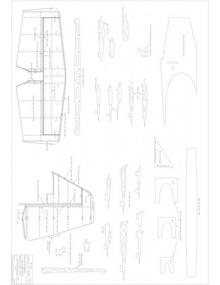 Sukhoi SU 26mx p3 Model 1 model airplane plan