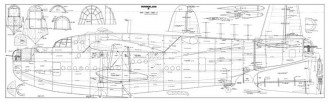 Sunderland II model airplane plan