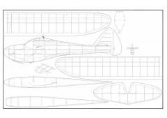 Super Sinbad 62 model airplane plan