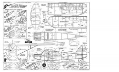 SuperCruiser model airplane plan