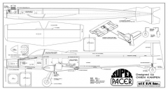 SuperPacer model airplane plan