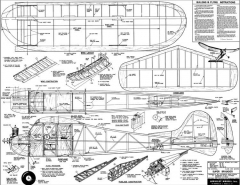 Super Brigadier model airplane plan
