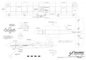 Super Champeen model airplane plan