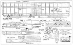 Super Chopper 33in model airplane plan