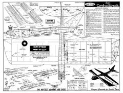 Super Combat Streak CL model airplane plan
