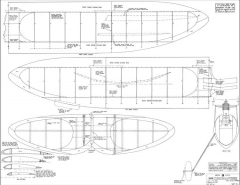 Super Commander Megow model airplane plan