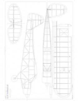 Super Cub Model 1 model airplane plan