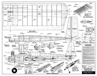 Super Duper Zilch 52in model airplane plan