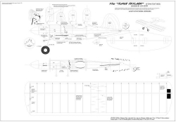 Super Skylark model airplane plan