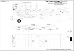 Super Skylark model airplane plan