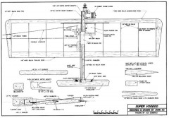 Super Voodoo 39in CL model airplane plan