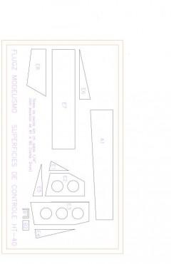 Superfs Model 1 model airplane plan