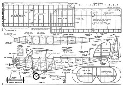Supermarine Sparrow-MAN-04-56 model airplane plan