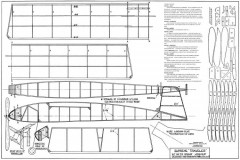 Supreme Traveler 26in model airplane plan