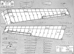Swallow1 model airplane plan
