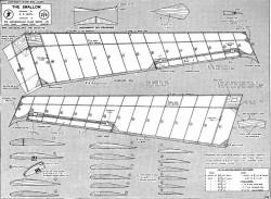 Swallow1 model airplane plan