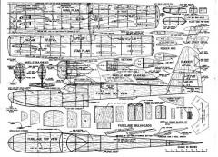SwanSongPlan model airplane plan