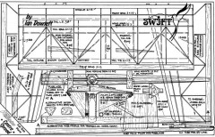 Swift model airplane plan