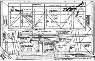 Swift model airplane plan